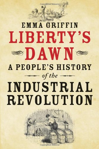 Book cover of Liberty's Dawn by Emma Griffin